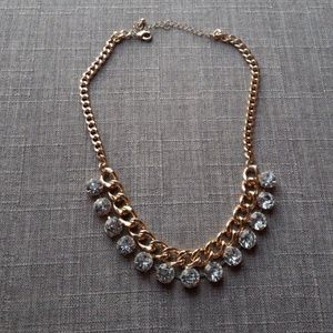 Jewelry - Gold/Silver bulky necklace